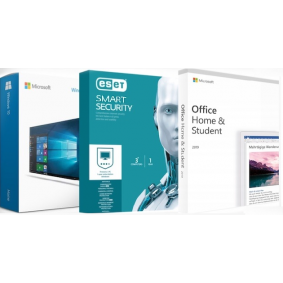 Windows 10 Home + Office 2019 для дома и учебы + ESET NOD32