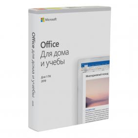 Microsoft Office для дома и учебы 2019 для PC BOX